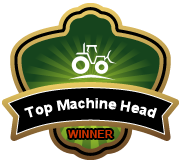 I'm a BigRentz Machine Head Winner!