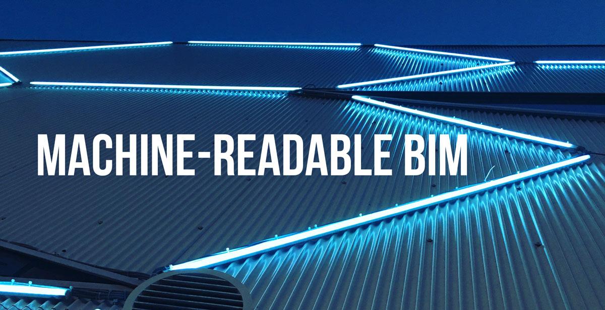 machine-readable bim