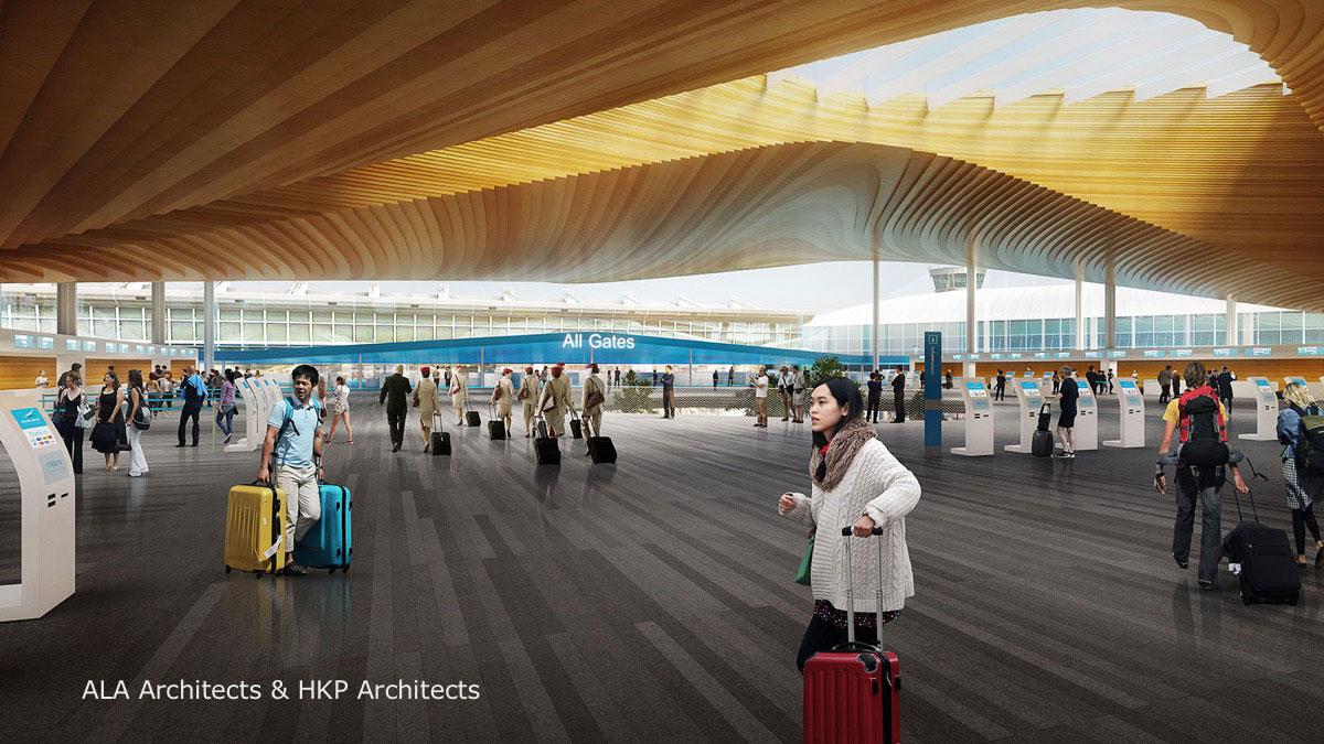 Terminal 2 Entrance