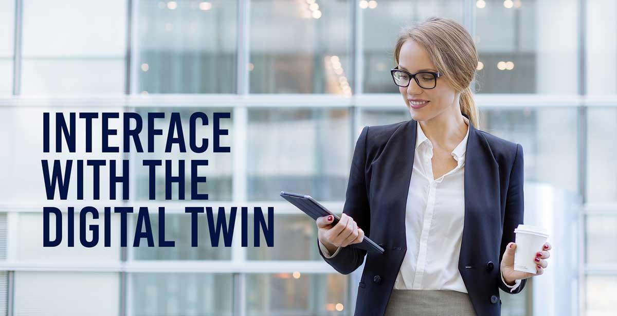 digital twin interface BIM