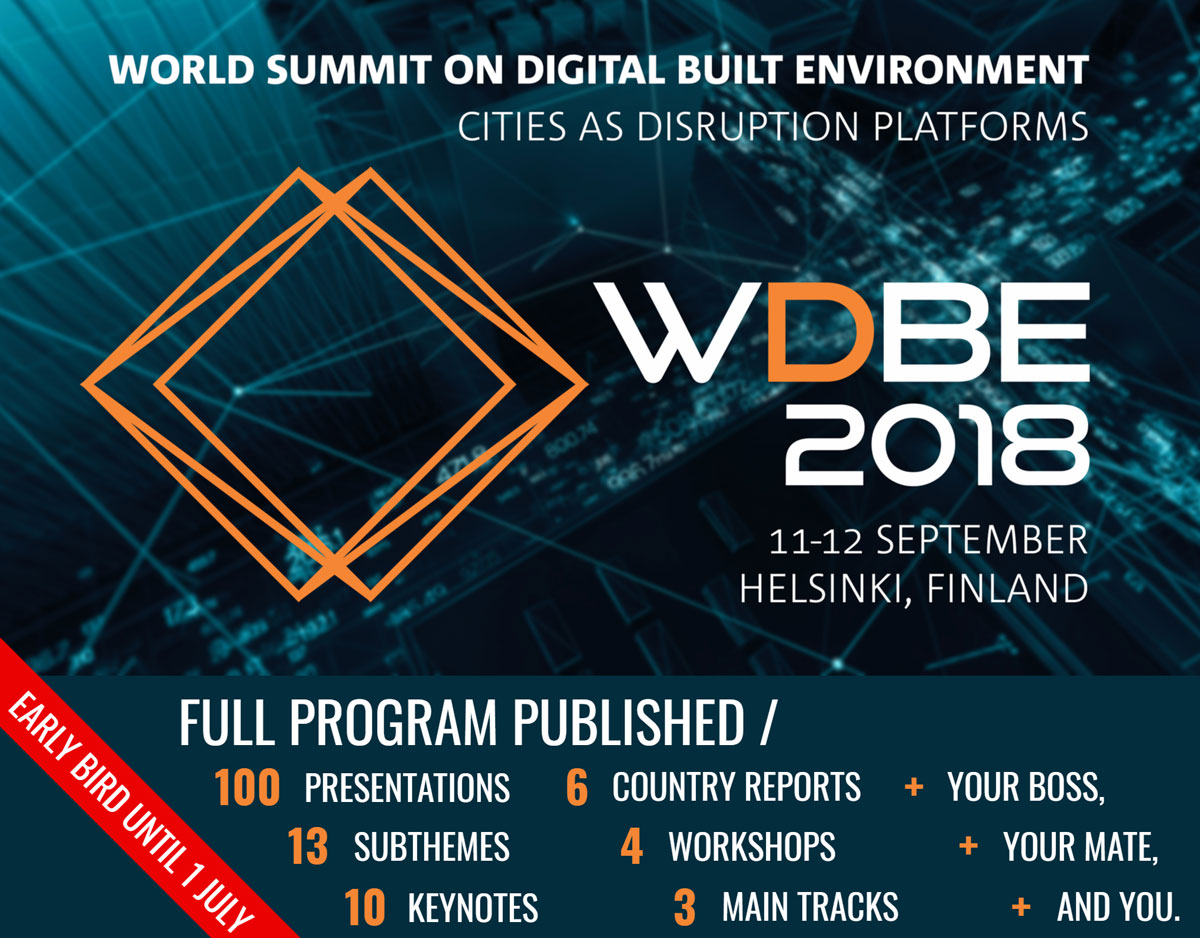 WDBE 2018 Helsinki Finland