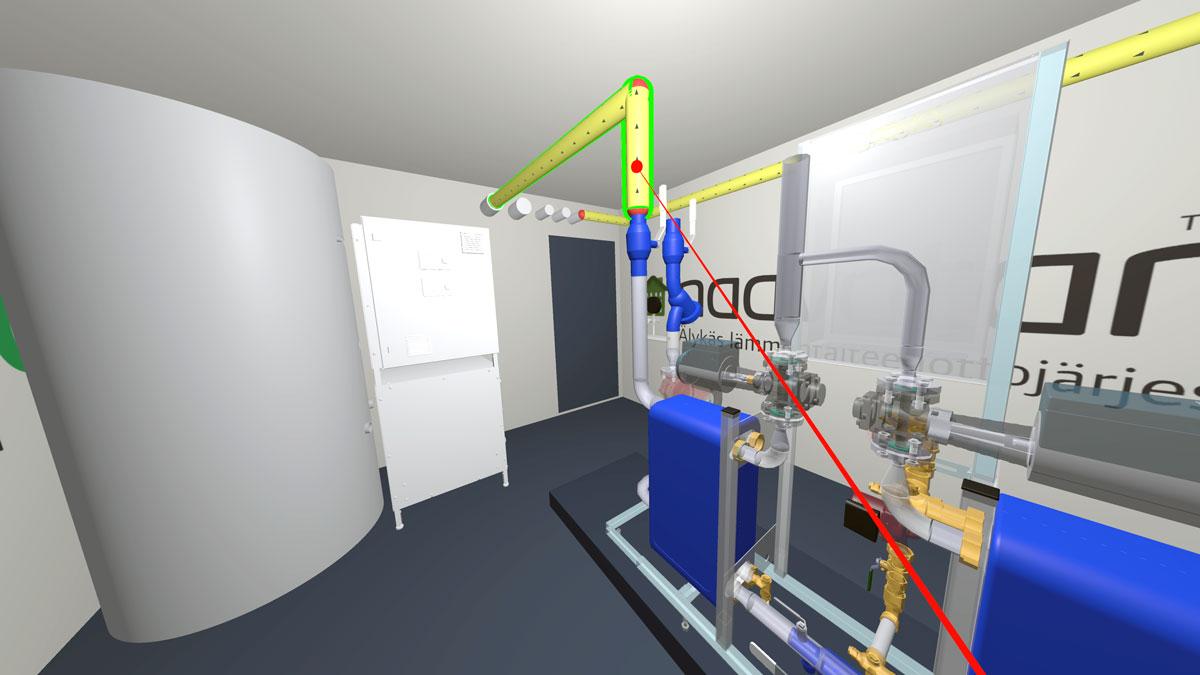VR HVAC design