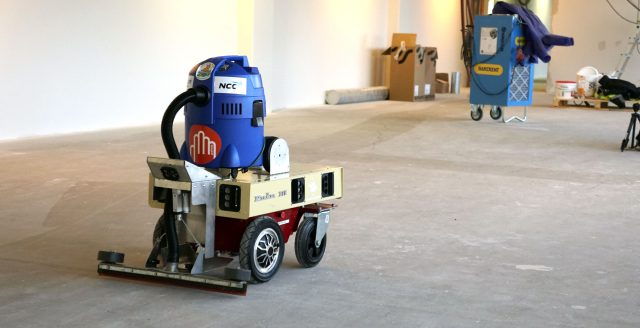 construction cleaning robot