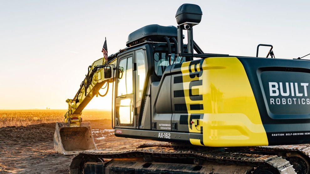 Built Robotics excavator