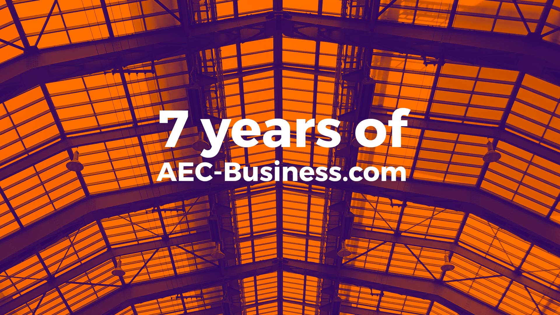 7 years of AEC Business blog