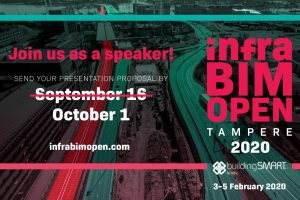 Submit InfraBIM Open presentation