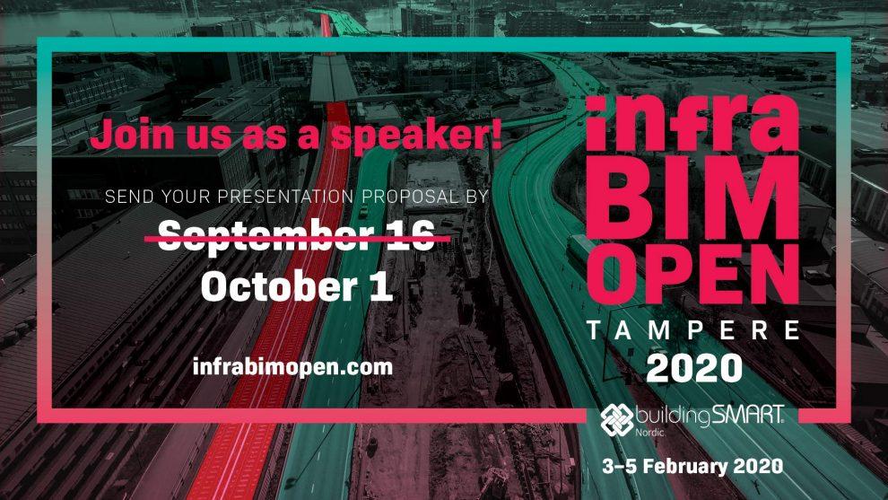 Submit InfraBIM Open presentation