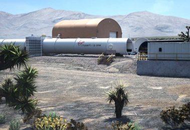 Hyperloop simulation