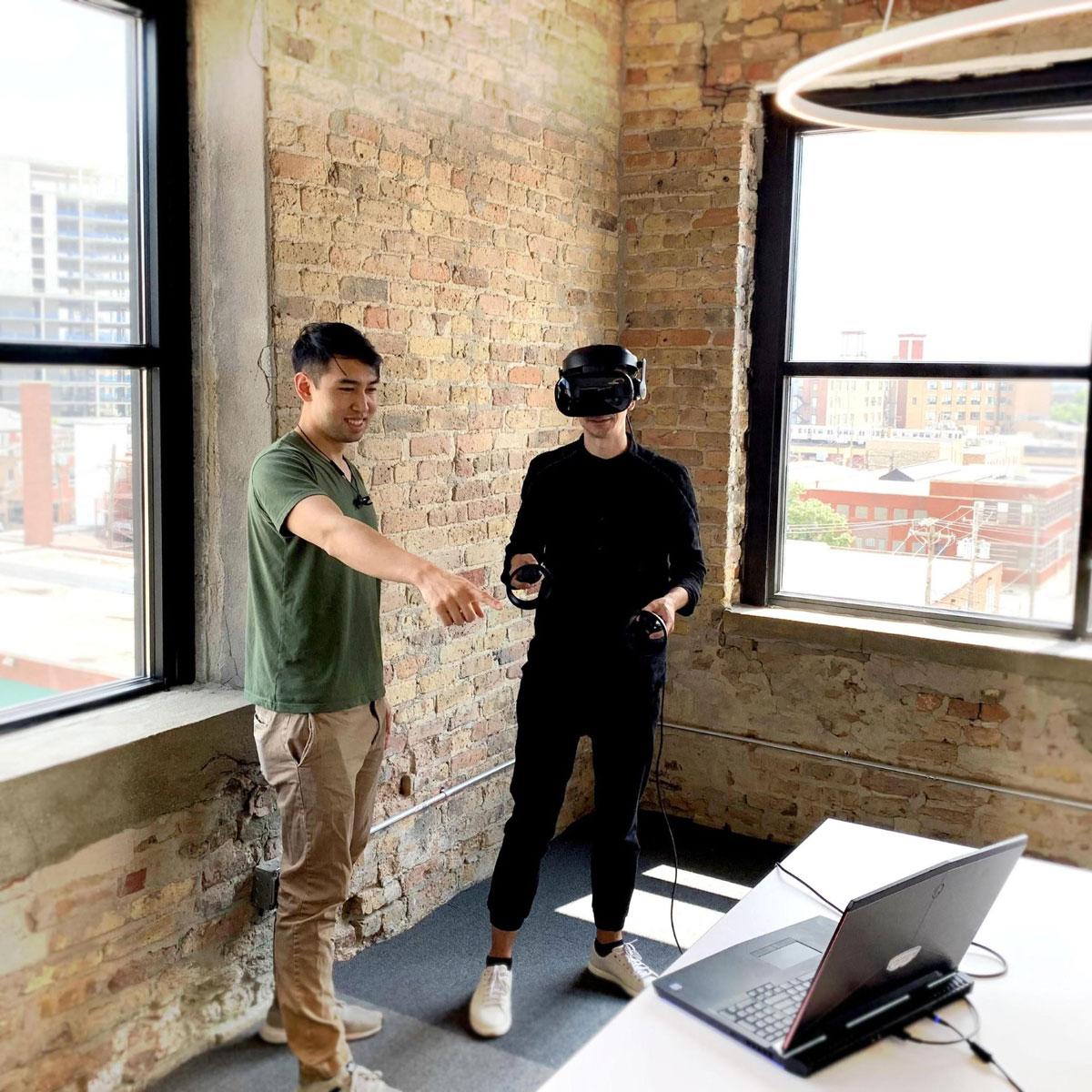 Testen van een virtuele omgeving