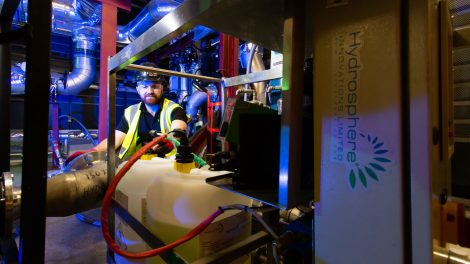 HydroSphere cleaning