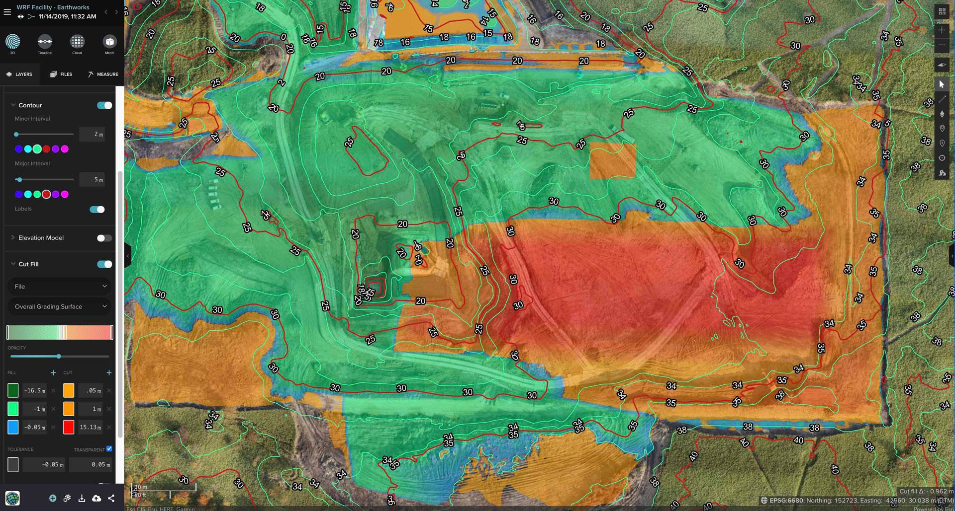 drone heatmap
