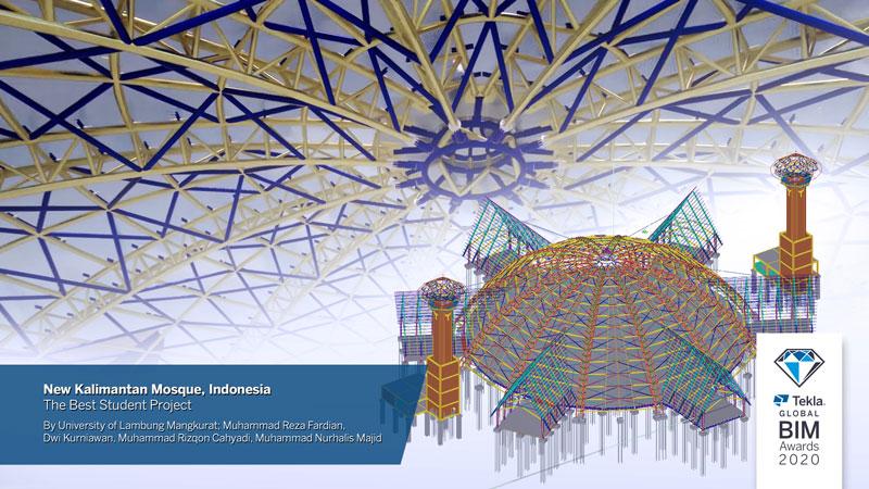 Nieuwe Kalimantan-moskee