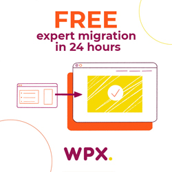 WPX hosts this site
