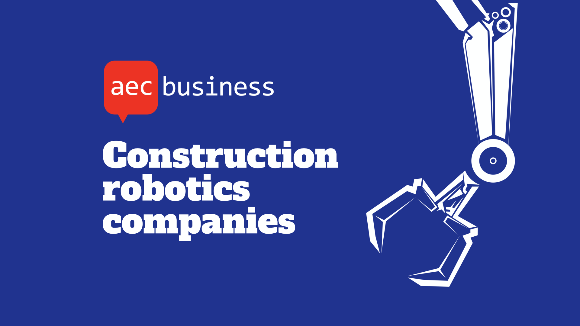 construction robotics companies