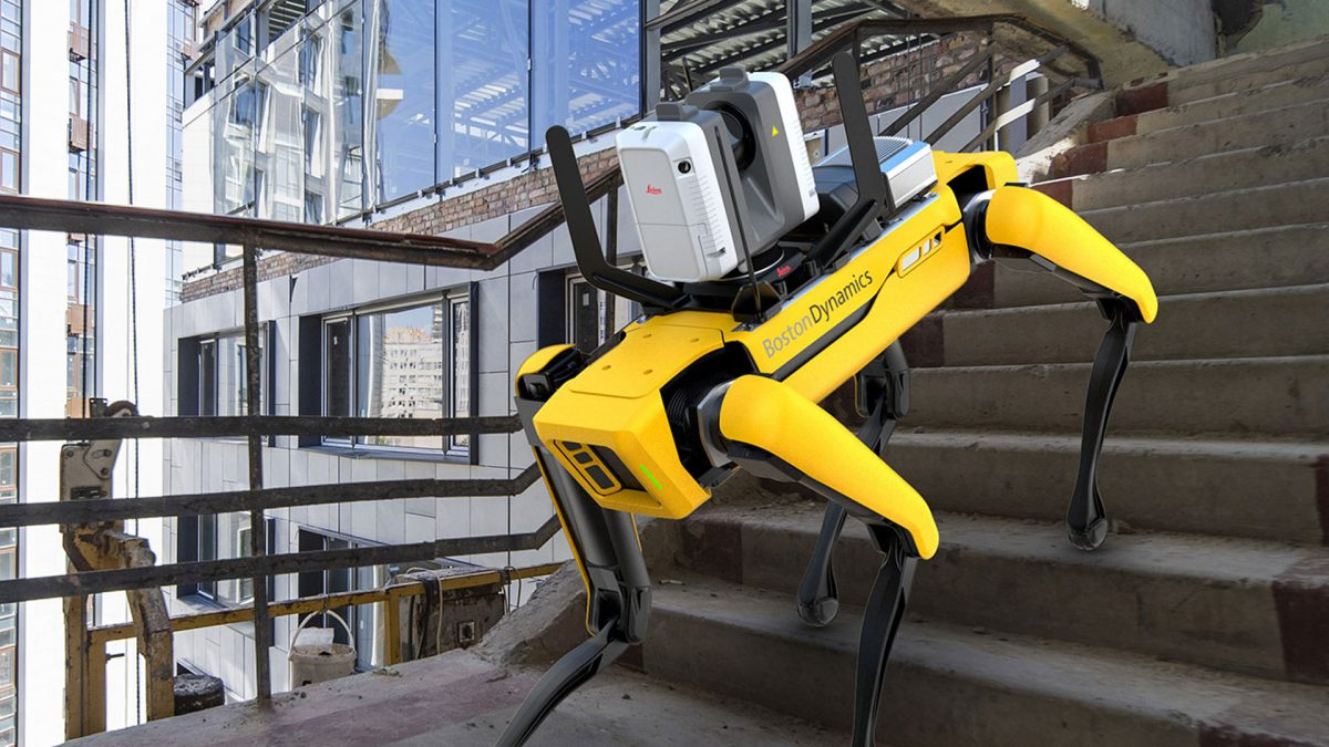 Leica Geosystems' 3D Reality Capture Solution for Boston Dynamics Spot Robot