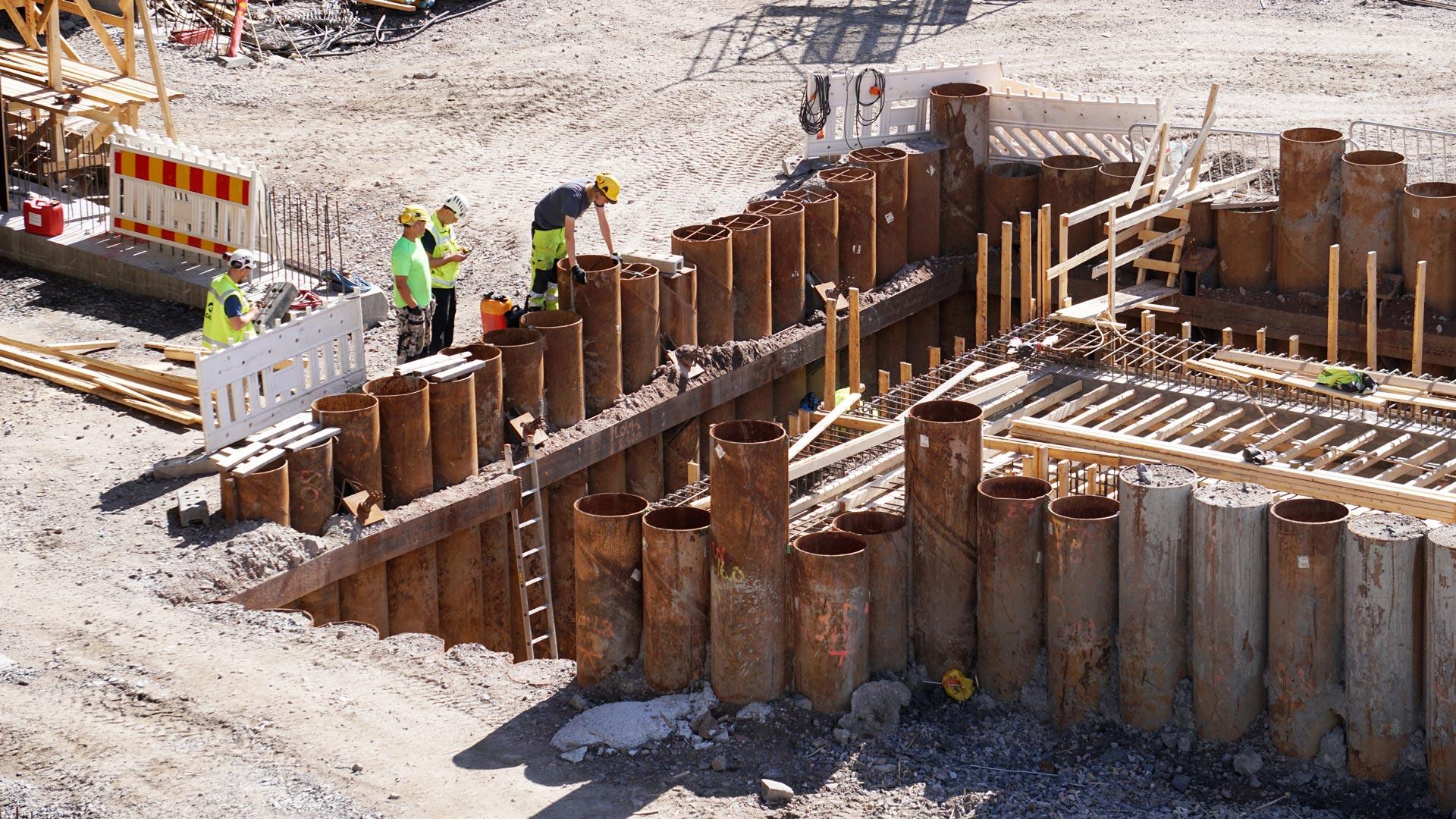 stimulus infrastructure construction