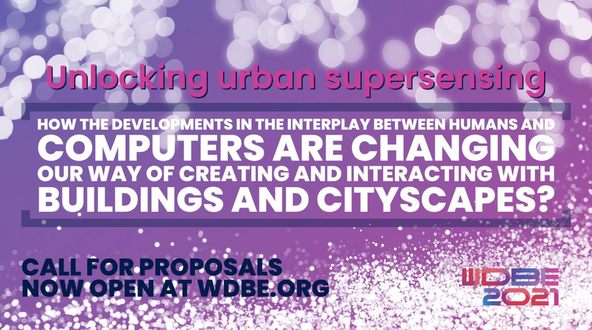 WDBE 2021 Call for Proposals Closing Soon