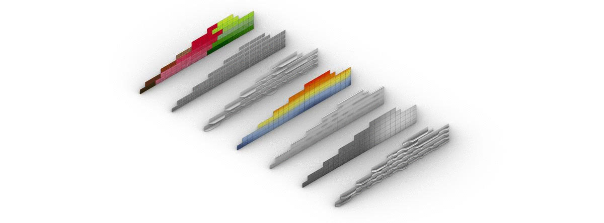 Facade mass customization AplusV solutions