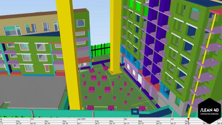 Lean 4D Brings Minute-Level Scheduling to Construction Projects