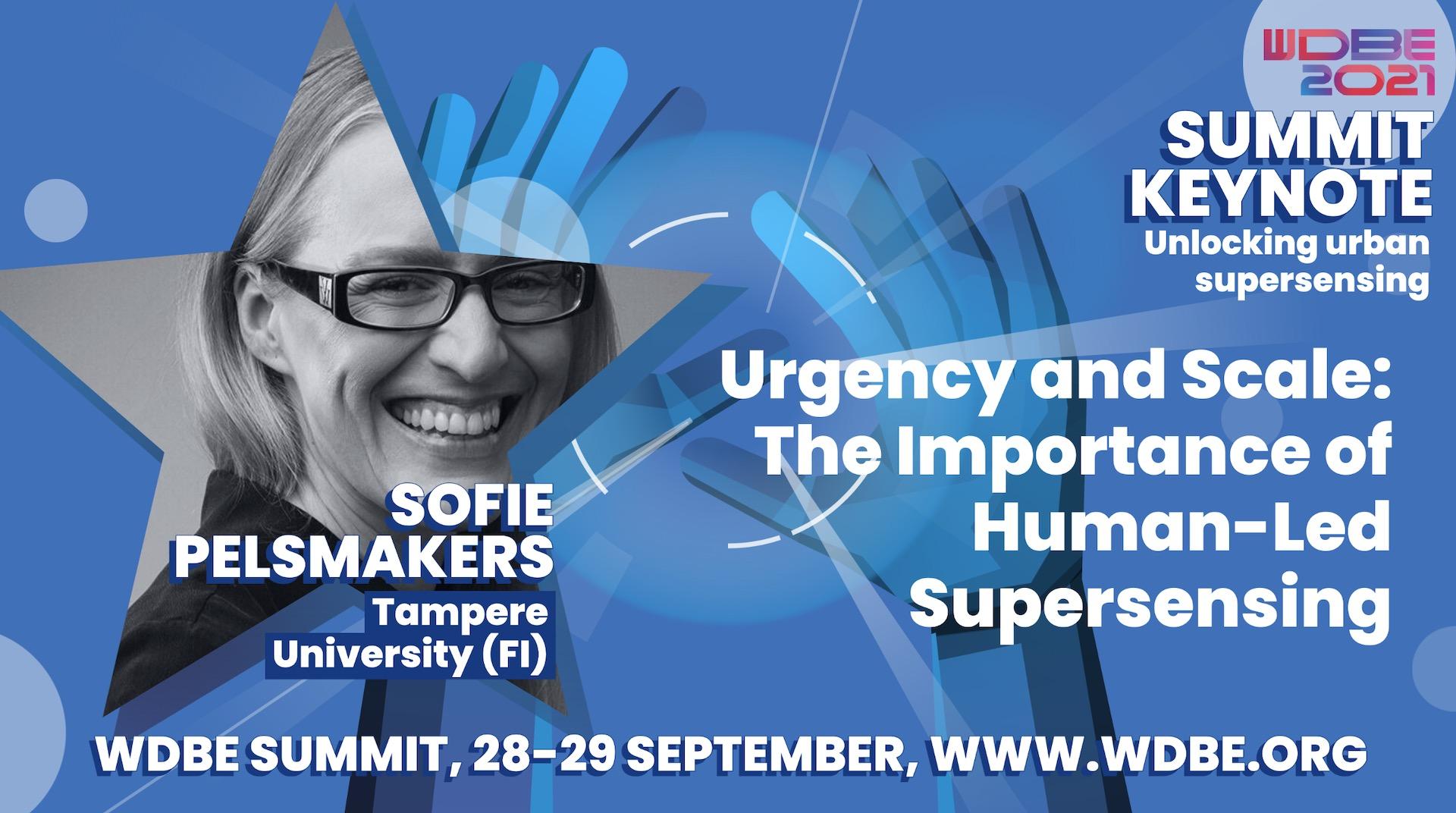 Sofie Pelsmakers keynote